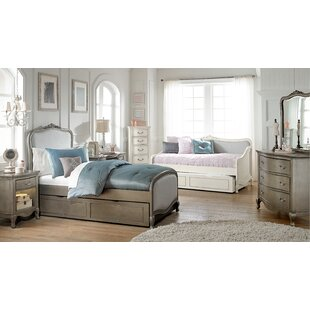 Troutdale Twin Panel Bed with Trundle