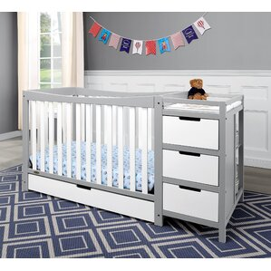 Remi 4 In 1 Convertible Crib And Changer