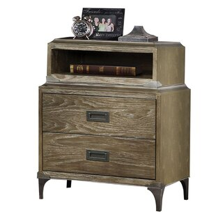 Sadee 2 Drawer Nightstand by 17 Stories