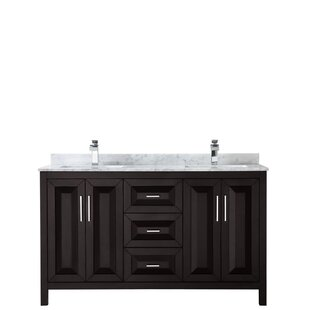 Daria 60 Double Bathroom Vanity Set
