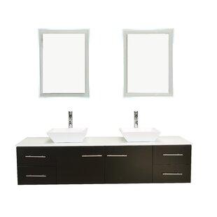 Modern Contemporary Ada Compliant Bathroom Vanity AllModern - Ada bathroom sinks vanities