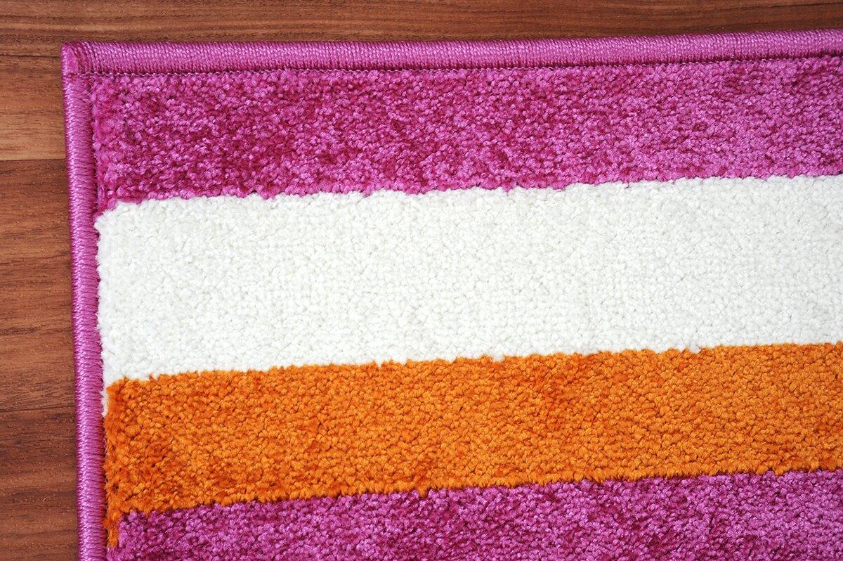 caracella teppich happy friends in pink bewertungen. Black Bedroom Furniture Sets. Home Design Ideas