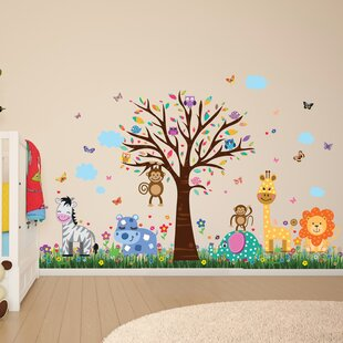 Jungle Safari Wall Decals Youll Love