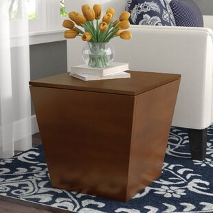 Comparison Quiles End Table With Storage by Andover Mills