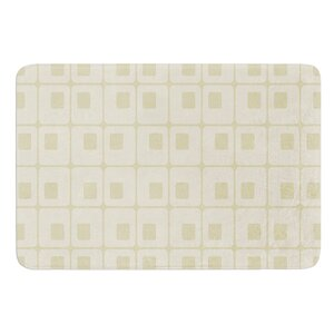 Squares in Square by Fotios Pavlopoulos Bath Mat