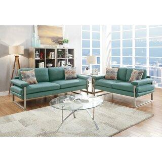 Beghel 2 Piece Living Room Set by Orren Ellis SKU:BB420598 Reviews
