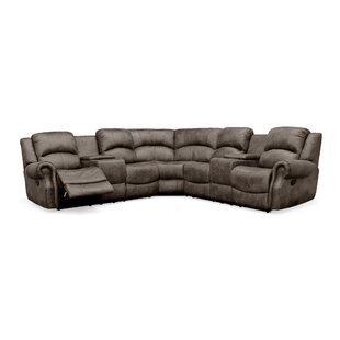 Shop Roslindale Reclining Sectional by Red Barrel Studio