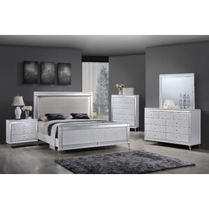 White Bedroom Sets king modern & contemporary bedroom sets you'll love | wayfair
