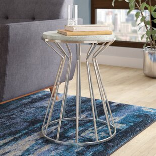 Perla End Table by Wade Logan