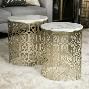 2 Piece Nesting Tables (Set Of 2) Urban Trends