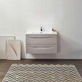 Felisa 36 Wall-Mounted Single Bathroom Vanity Set by Orren Ellis