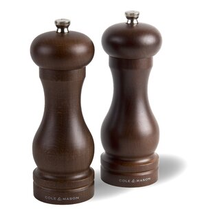 2 Piece Salt and Pepper Mill Gift Set