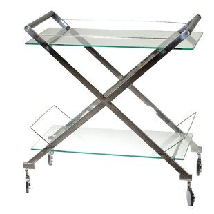 Orren Ellis Hardoby Bar Cart