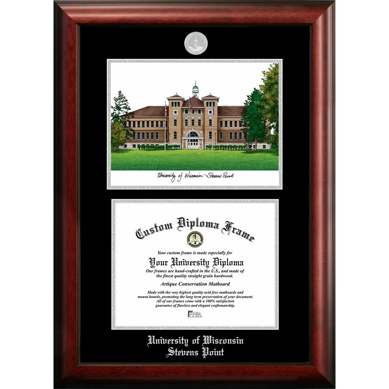 Campus Images University Of Wisconsin Stevens Point Picture Frame Wayfair