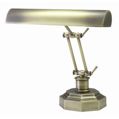 Joellen 12.5'' Piano Lamp Charlton Home Finish: Antique Brass