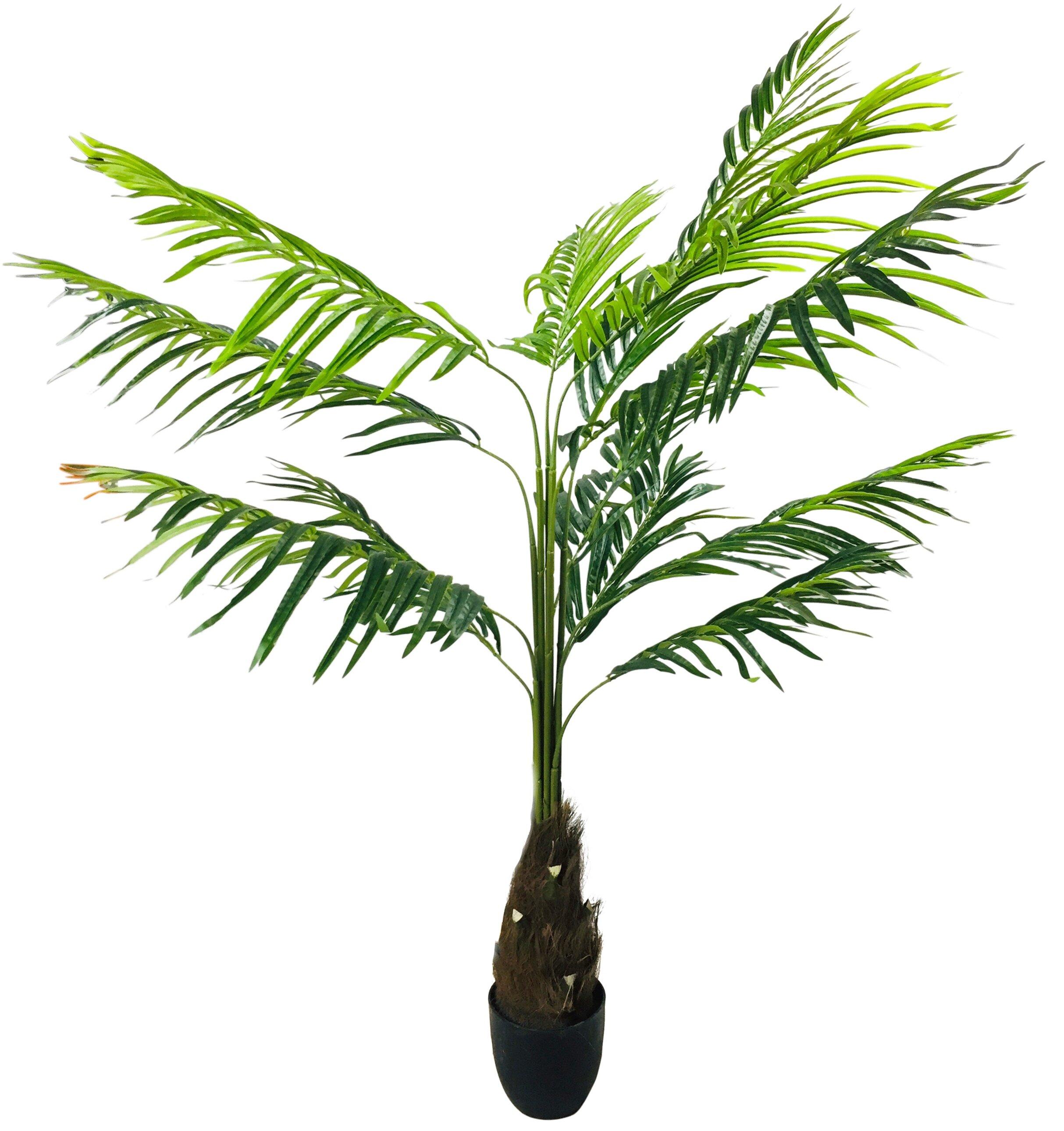 Geko Products Artificial Floor Palm Tree In Pot Wayfair Co Uk