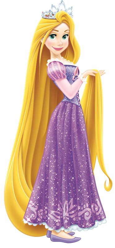 Room Mates Disney Princess Rapunzel Giant Wall Decal