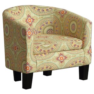 Lanoue Barrel Chair by Bungalow Rose