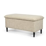 Merry 38.8 Rectangle Storage Ottoman by Alcott Hill®