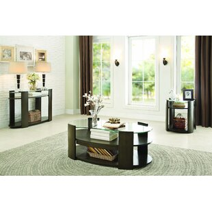 Latitude Run Ursae 3 Piece Coffee Table Set