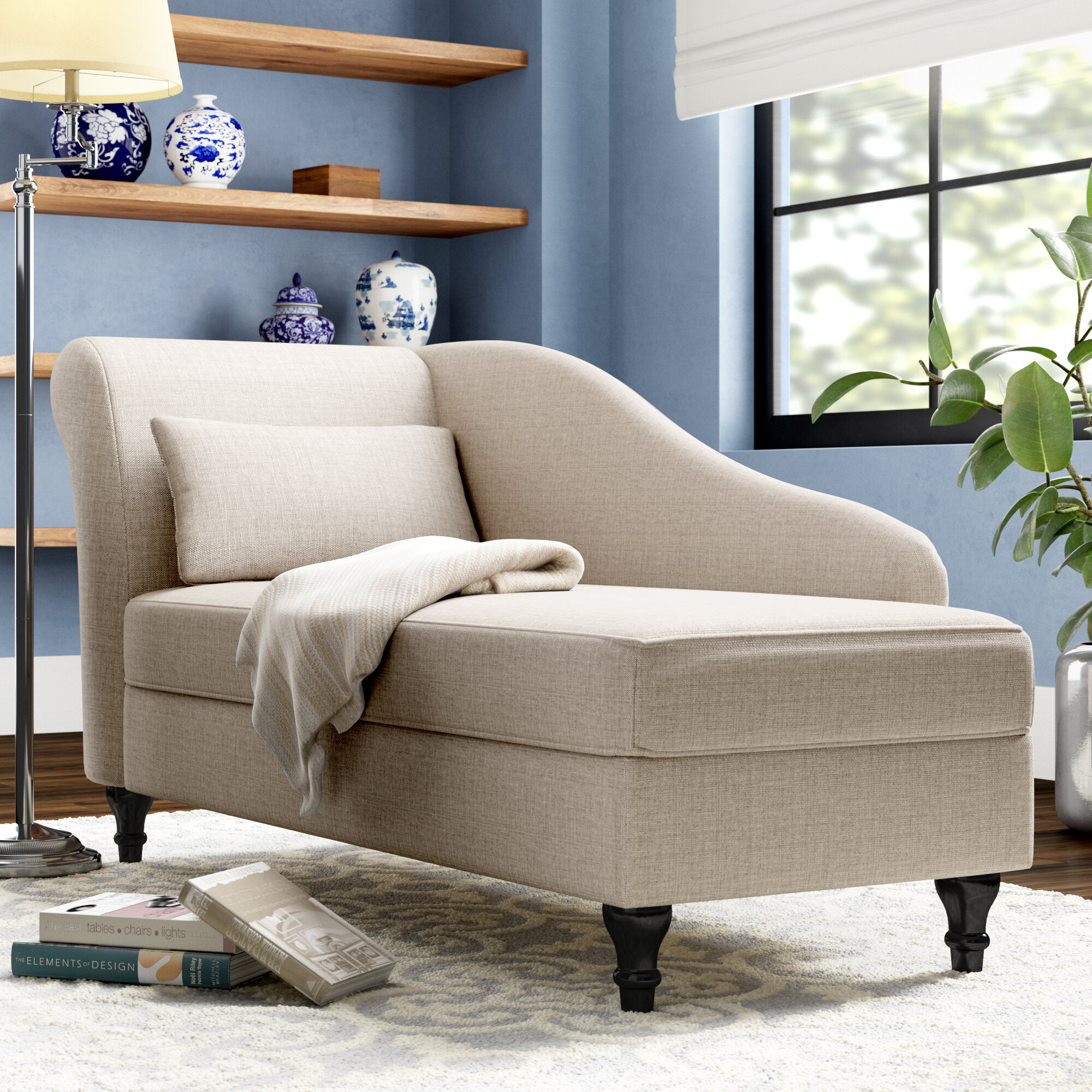 Andover Mills Ramires Chaise Lounge Reviews Wayfair