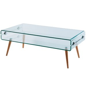 Cassetto Glass Coffee Table by VERSANORA