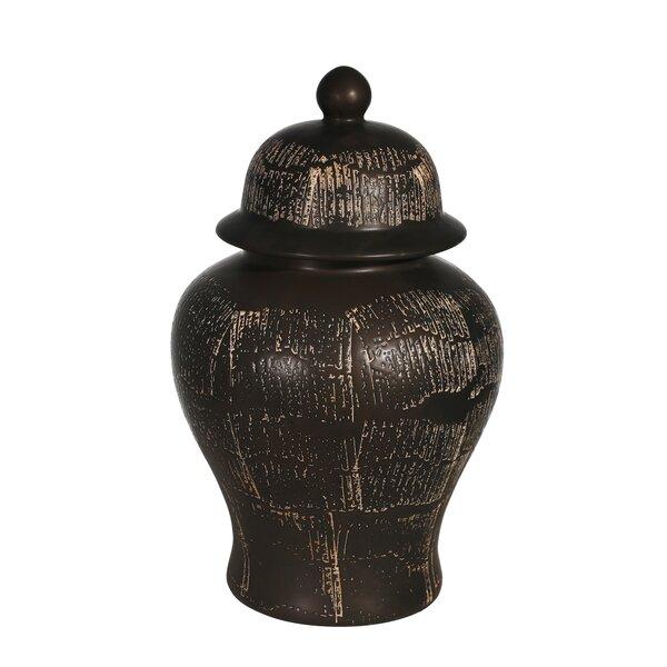 Black Temple Jar Wayfair