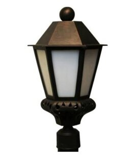 Read Reviews Phillipstown 1 Light 20.25 Post Lantern By Alcott Hill