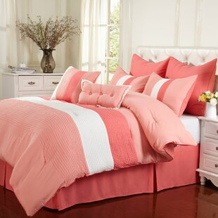 Latitude Run Stockbridge 8 Piece Reversible Comforter Set