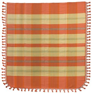 Millwood Pines Weare Morning Rays Hand Woven Cotton Twin Bedspread