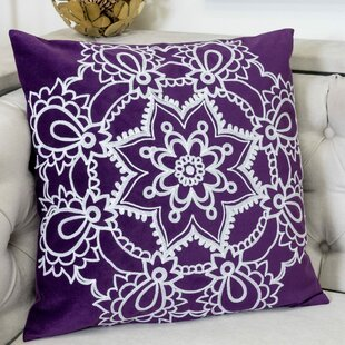 Wasola Mandala Indoor/Outdoor Velvet Throw Pillow