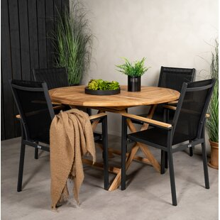 Akili 4 Seater Dining Set By Sol 72 Outdoor
