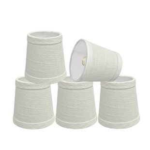 4'' Linen Empire Lamp Shade (Set of 5)
