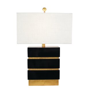 Best Reviews Golden Glamour San Simeon 24 Table Lamp By Couture, Inc.