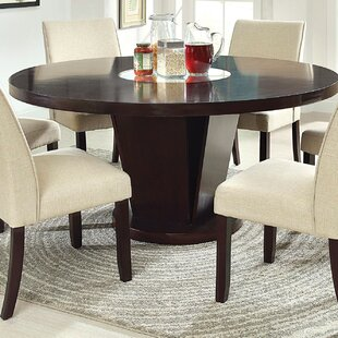 Vessice Solid Wood Dining Table Hokku Designs