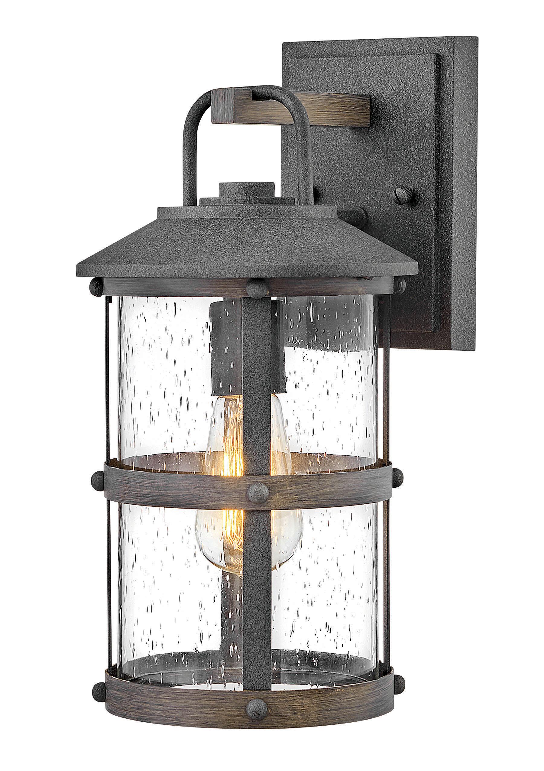 Longshore Tides Carreras Outdoor Wall Lantern Wayfair