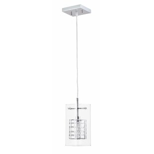 Orren Ellis Goethe 1-Light Drum Pendant