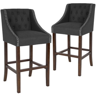 With Arms Full Back Bar Stools You Ll Love In 2019 Wayfair