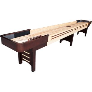 Coventry 14' Espresso Shuffleboard By Playcraft