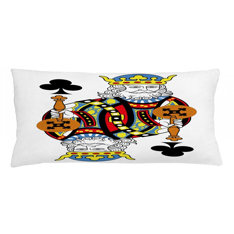 East Urban Home King Indoor Outdoor Lumbar Pillow Cover Wayfair