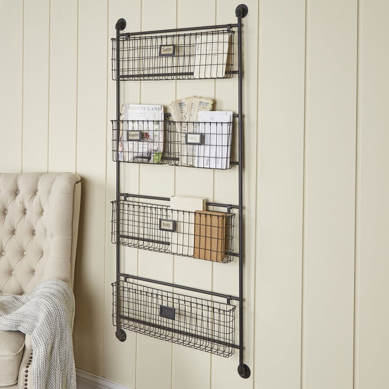 Birch Lane™ Metal 5-Basket & Reviews | Wayfair