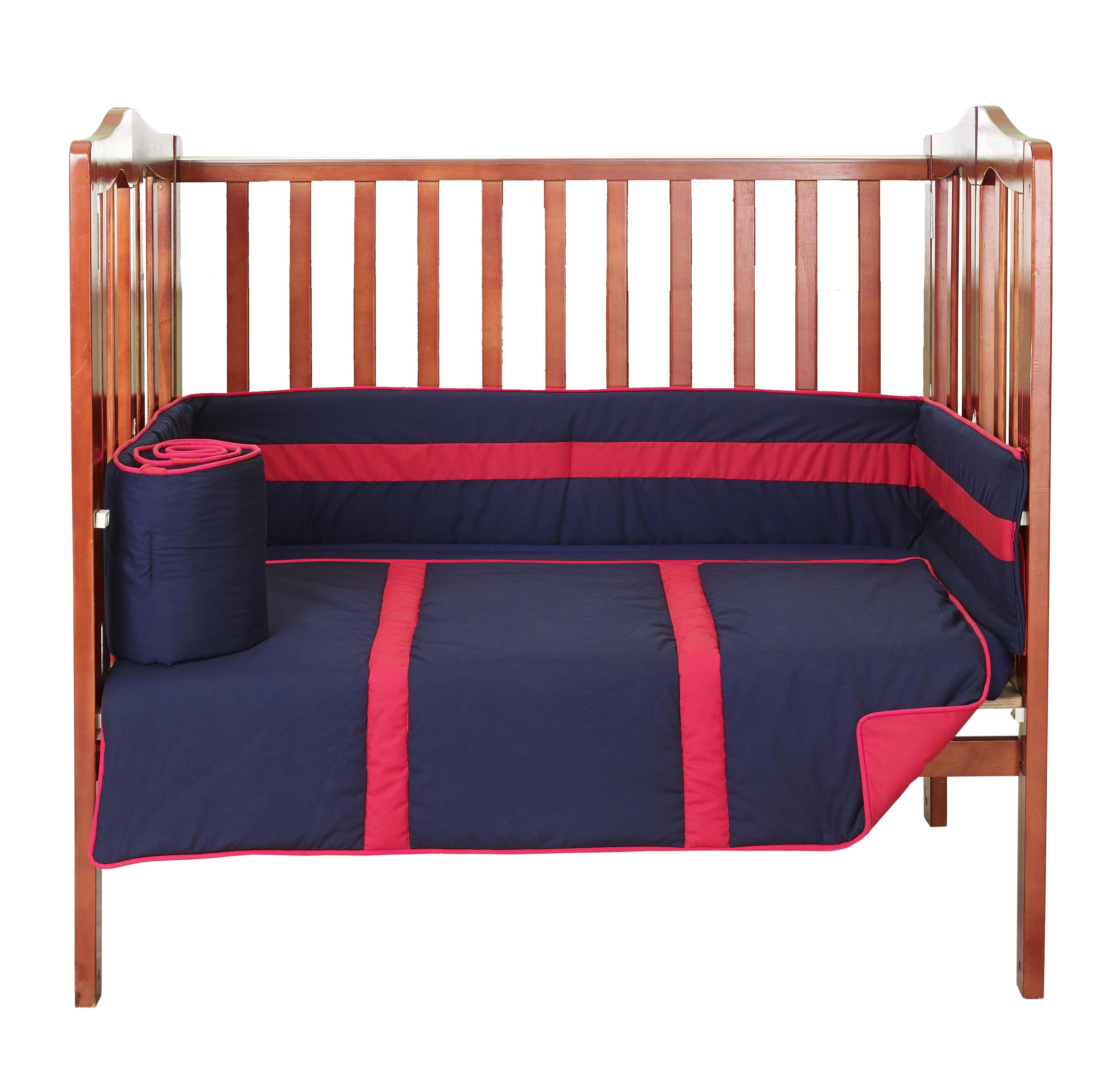 BabyDoll Solid Crib//Toddler Bed Sheet Set Blue