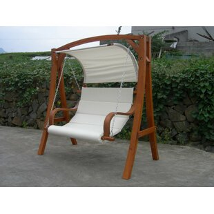 Jonas Larch Wood Swing Seat By Freeport Park