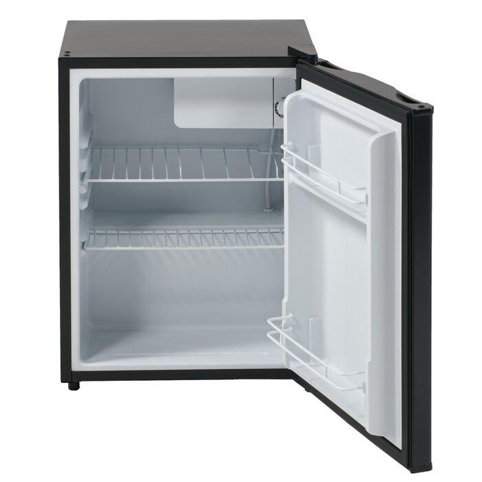 2.4 cu. ft. Freestanding Mini Fridge with Freezer