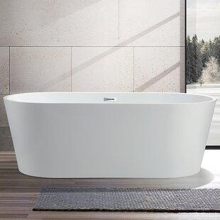 Buying 67.5 x 32 Freestanding Soaking Bathtub ByVanity Art