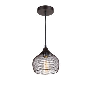 Whitfield Lighting Alec 1-Light Dome Pendant