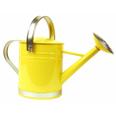 0.5 Gallon Basic Watering Can Arcadia Garden Products Color: Yellow