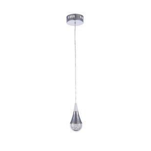 Orren Ellis Servis LED Teardrop Pendant