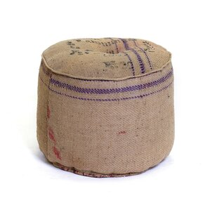 Fletcher Vintage Sack Ottoman by Ophelia & Co.