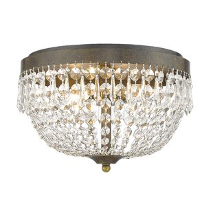 Rosdorf Park Dora 4-Light Flush Mount